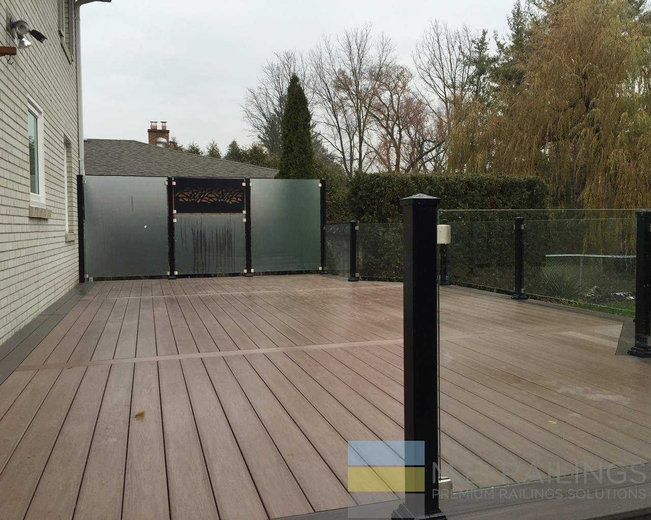 Aluminum Deck Railings With Glass Toronto Railings Provides Exterior Interior And Stairway