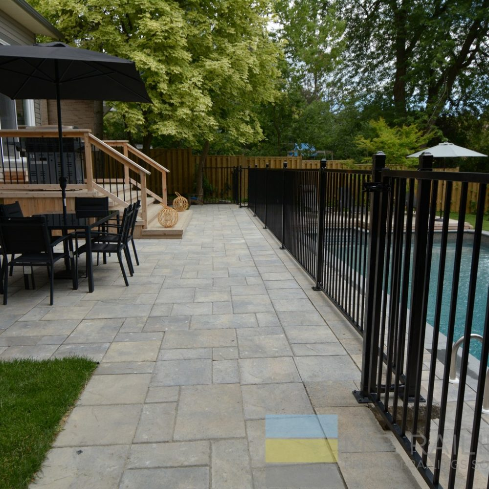 Metal Deck Railings