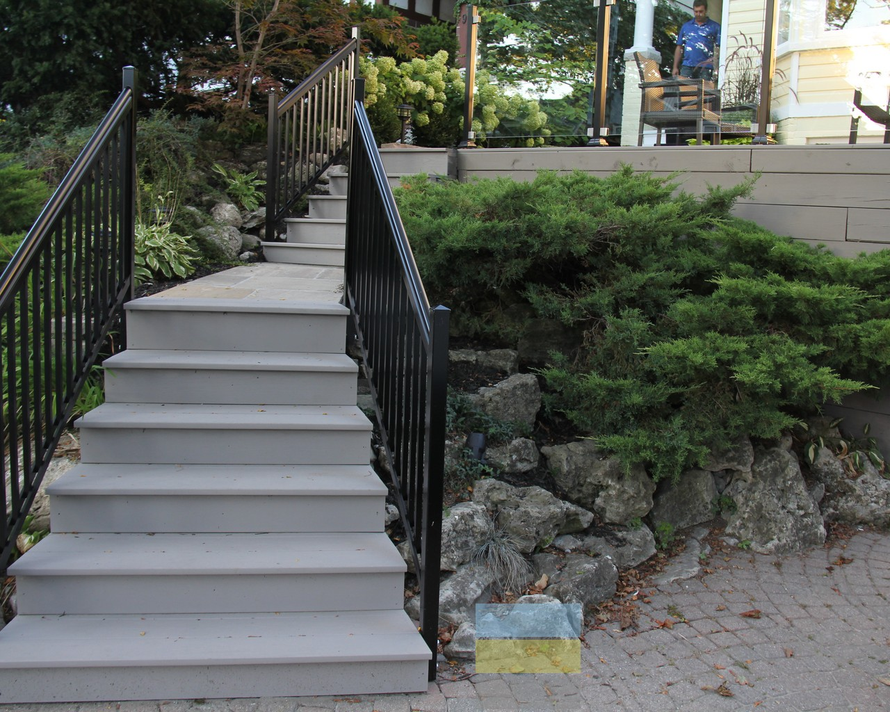Glass Stair Railings Interior: Aluminium Stair Railings With Glass
